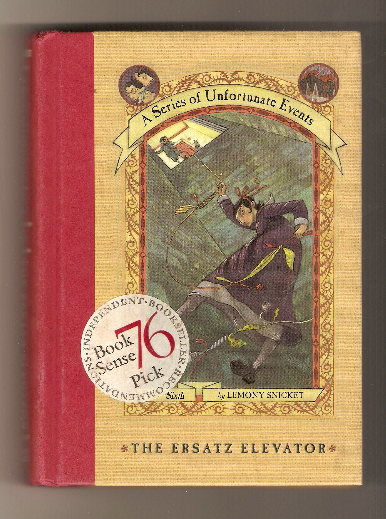 Lemony Snicket A Series of Unfortunate Events 9 Book Lot 1-3, 5-9, 12